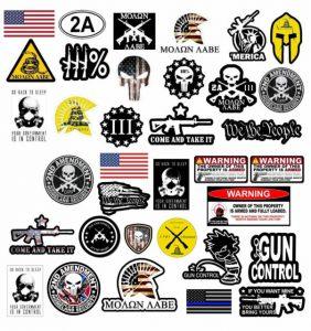 Gun decals