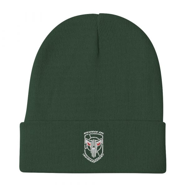 Embroidered Beanie 3