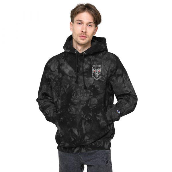 Unisex Champion tie-dye hoodie 3