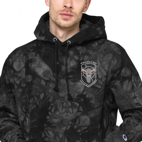 Unisex Champion tie-dye hoodie 4