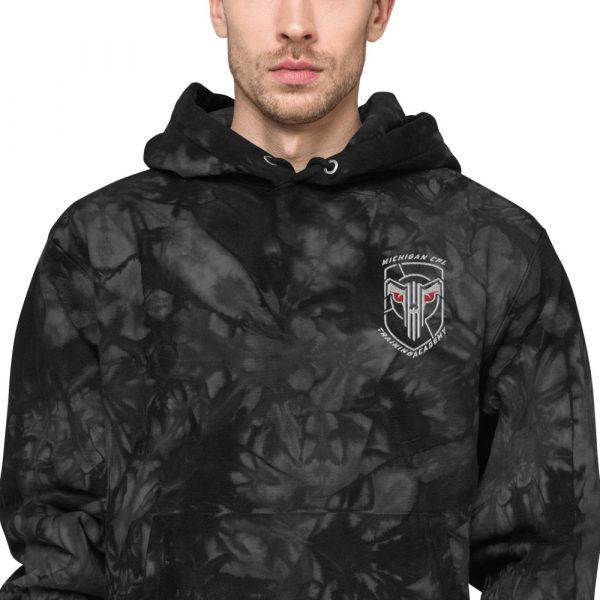 Unisex Champion tie-dye hoodie 2