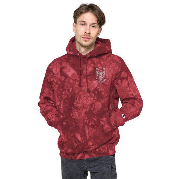 Unisex Champion tie-dye hoodie 13