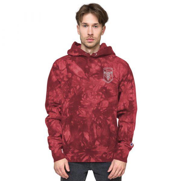 Unisex Champion tie-dye hoodie 12