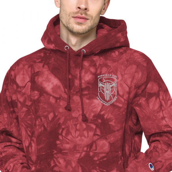 Unisex Champion tie-dye hoodie 14