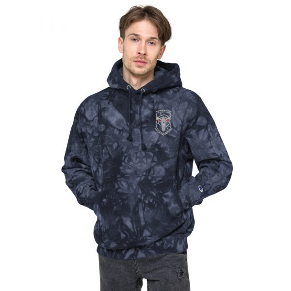 Unisex Champion tie-dye hoodie 8