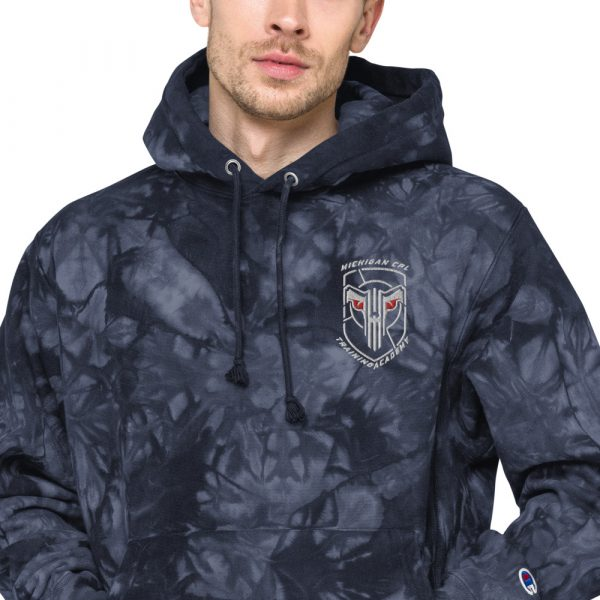 Unisex Champion tie-dye hoodie 9