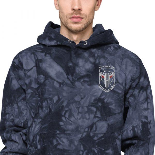 Unisex Champion tie-dye hoodie 6